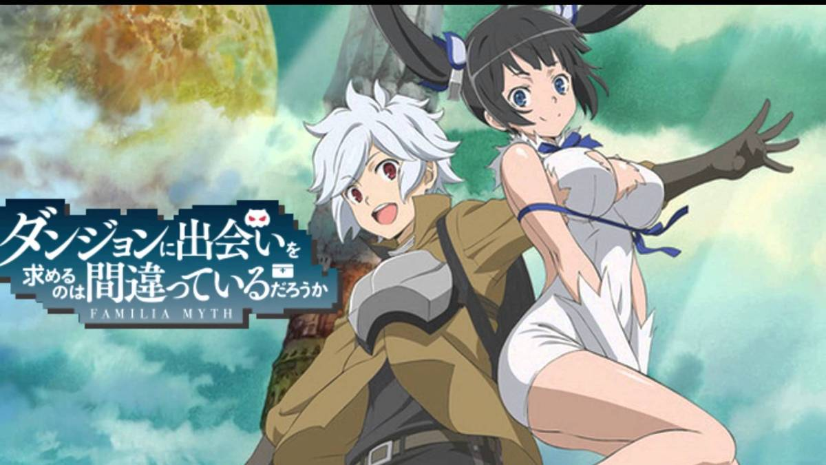 DanMachi (Is It Wrong to Try to Pick Up Girls in a Dungeon?) - Season 1 (2015) Review